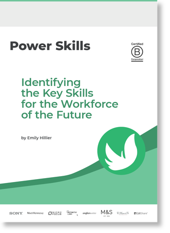 Power Skills - Identifying the Key Skills for the Workforce of the Future - Ethical Angel - Cover Image