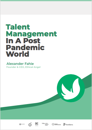 Talent Management in a Post Pandemic World - Cover